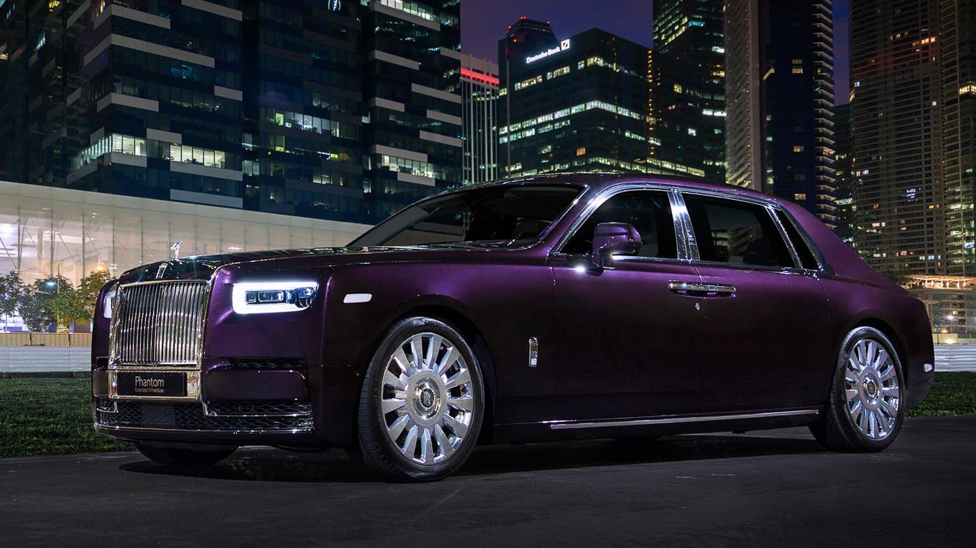 The New Rolls-Royce Phantom Extended Wheelbase