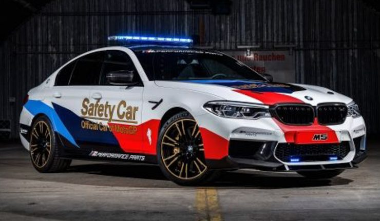 Feast your eyes on the new BMW M5 MotoGP Safety Car AutoBuzz