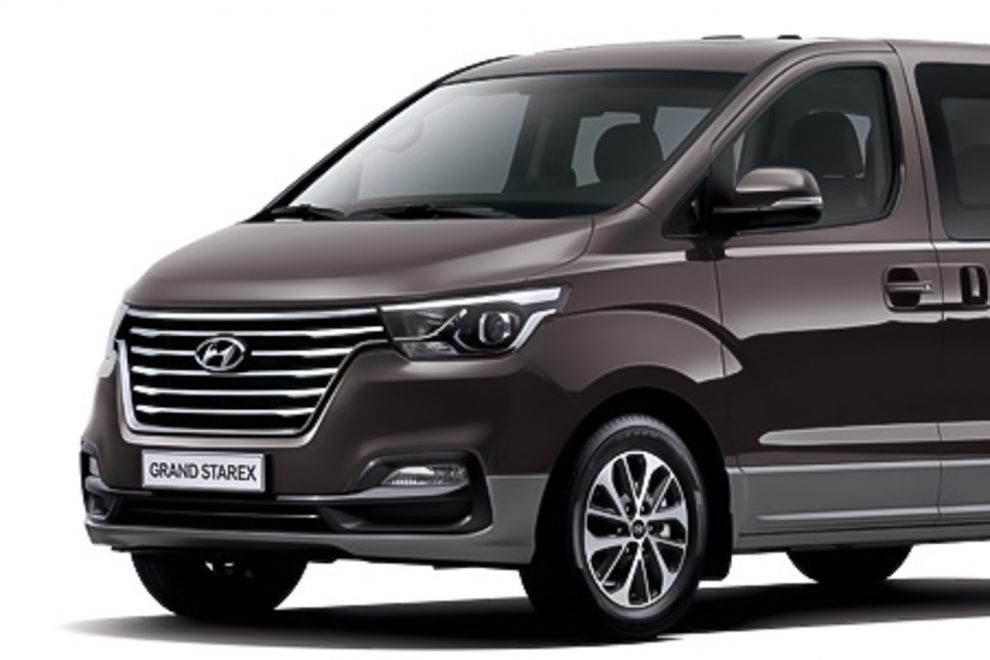 Hyundai Grand Starex Facelift Makes Official Debut In