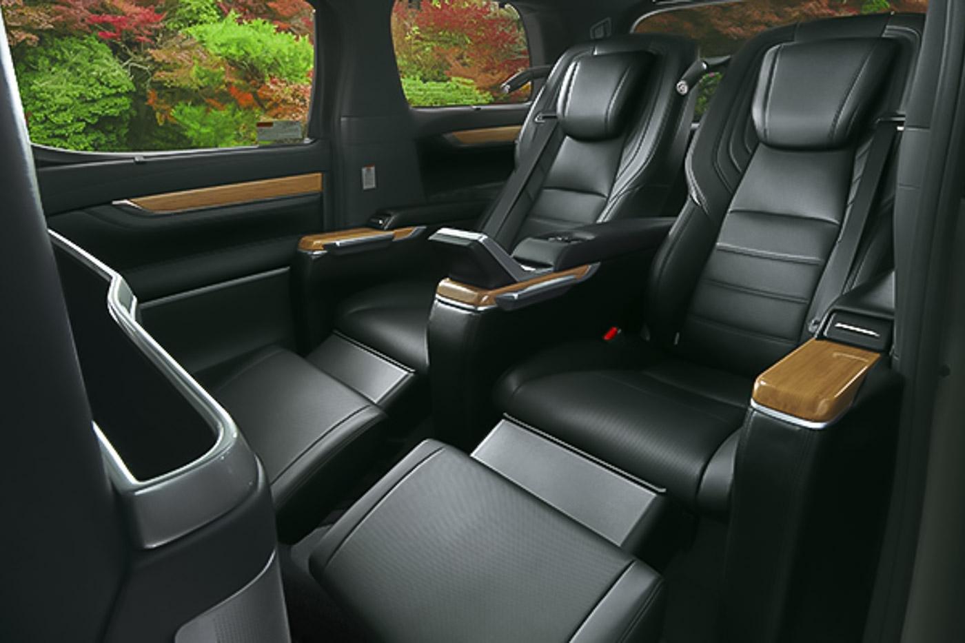 Modellista Has Made A 4 Seater Toyota Alphard Vellfire