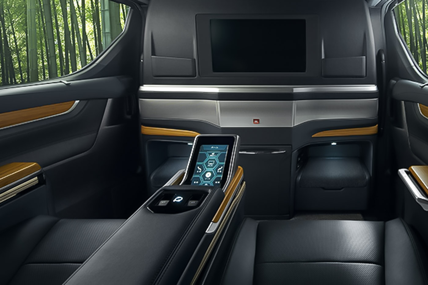 Modellista has made a 4 seater Toyota Alphard/Vellfire, because they