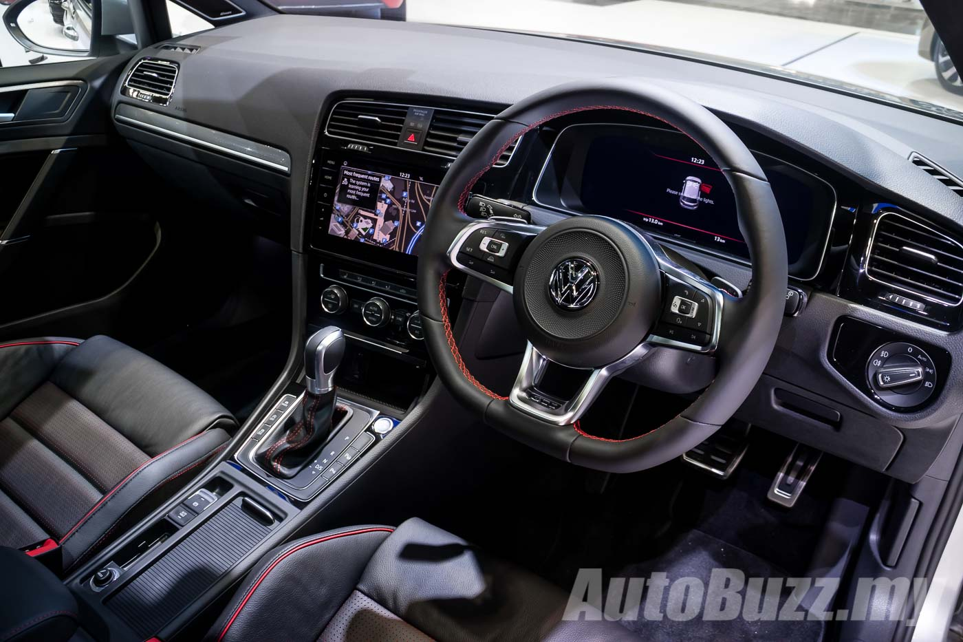 Volkswagen Golf Mk7 5 Officially Teased Gti R Included Launching Soon Autobuzz My