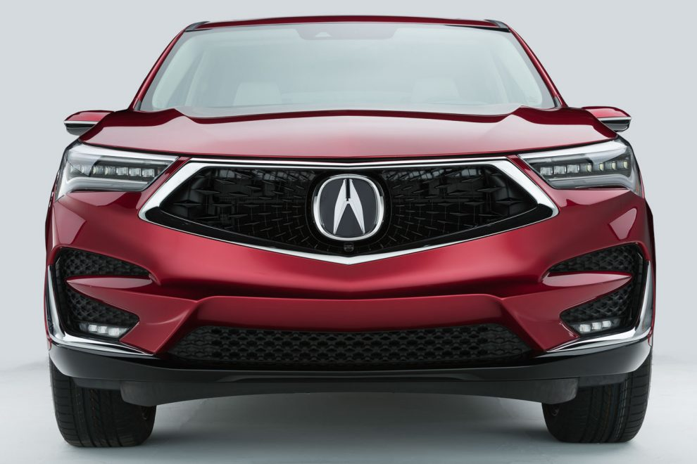 2019 acura rdx debuts with a new android-based touchpad