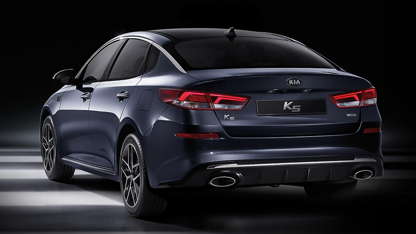 Kia Optima K5 Facelift Is Now In Korea And It Looks