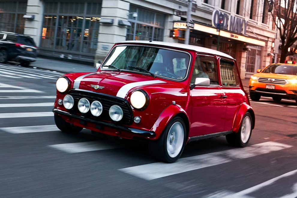 MINI has created an Electric Version of the Classic Cooper ...