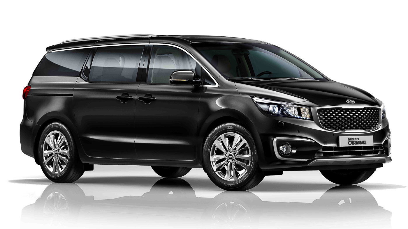 The Refreshed Kia Grand Carnival Sx Gets Dual Monitors In