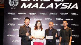 Top 3 recipients of the Compact Hatchback of Malaysia award