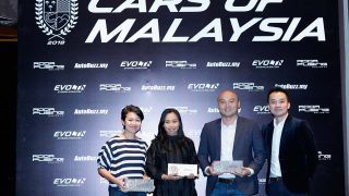 Top 3 recipients of the Coupes of Malaysia award