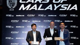 Top 3 recipients of the Premium Coupes of Malaysia award