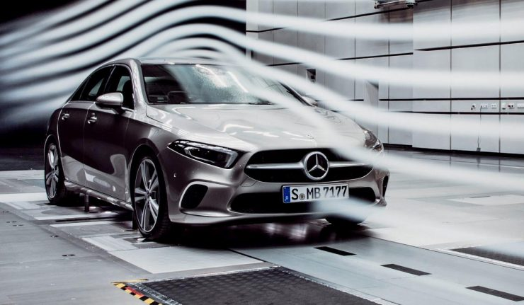 New mercedes benz a class sedan is the ultimate wind cheater for The newest mercedes benz
