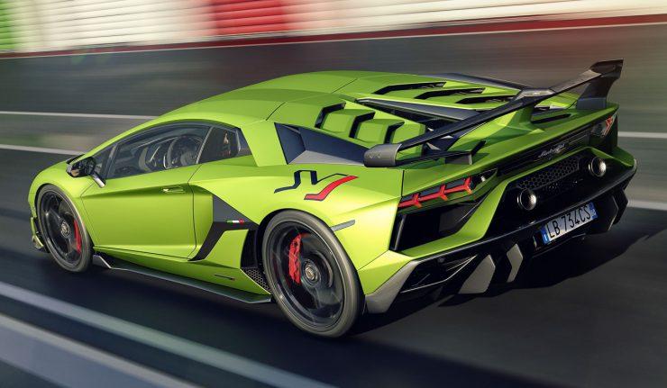 The New Lamborghini Aventador Svj Is An Aerodynamic Beast Autobuzz My