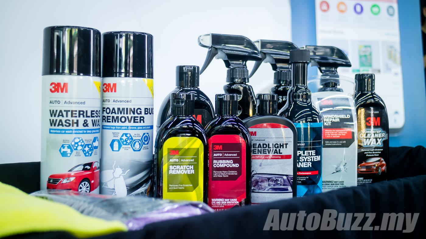 You can now buy 3M DIY Car Care Products on Lazada