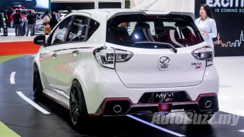 Body kit of Myvi S-Edition in Brunei not by Perodua