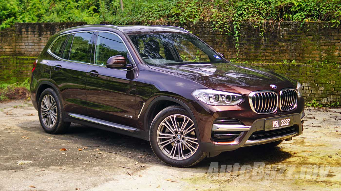 Review G01 Bmw X3 Xdrive30i Grown Up And Sensible