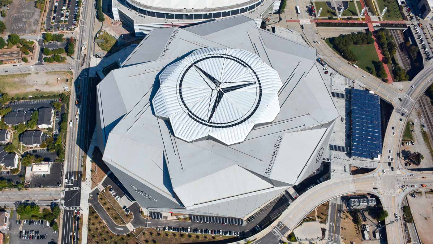 There S A Really Cool Mercedes Benz Stadium You May Not