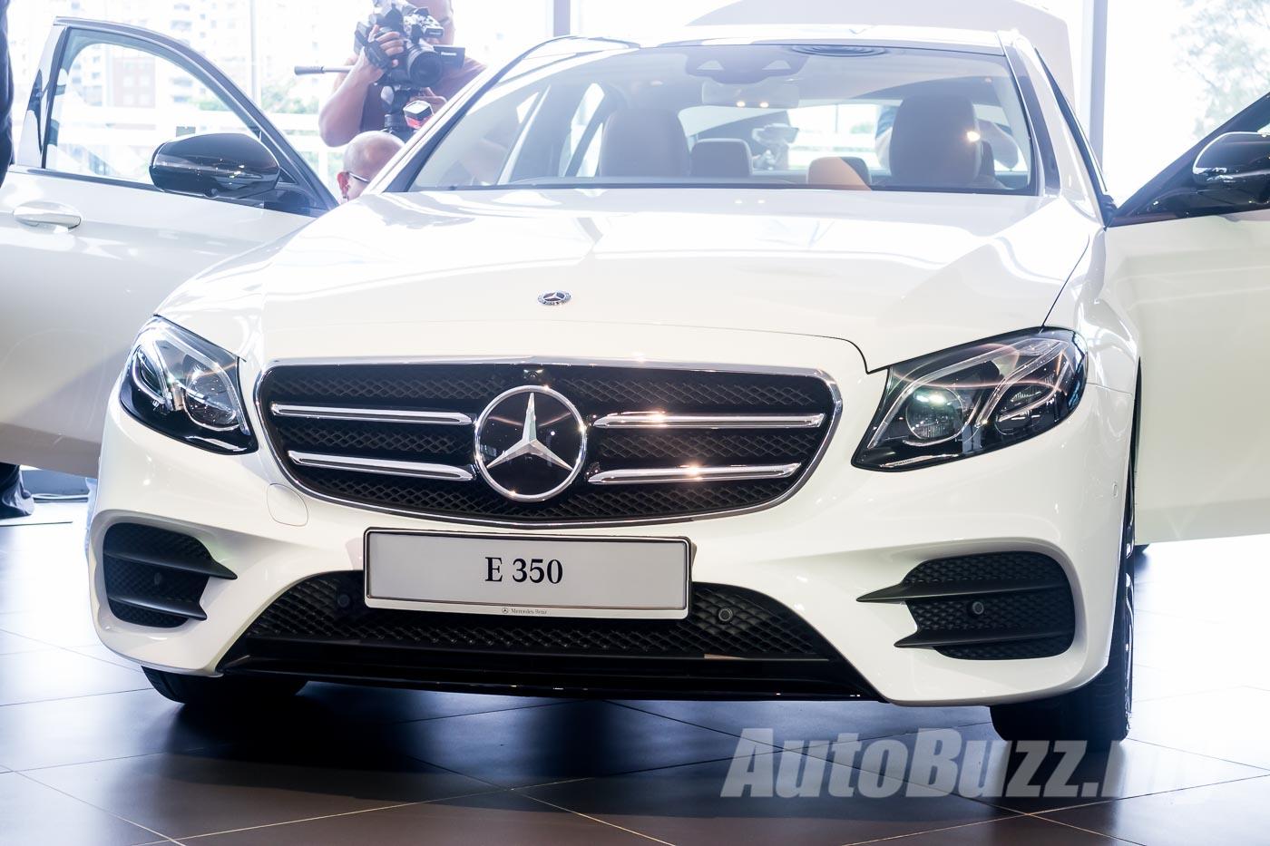 Meet the new Mercedes-Benz E-Class range - E 200, E 300 & E