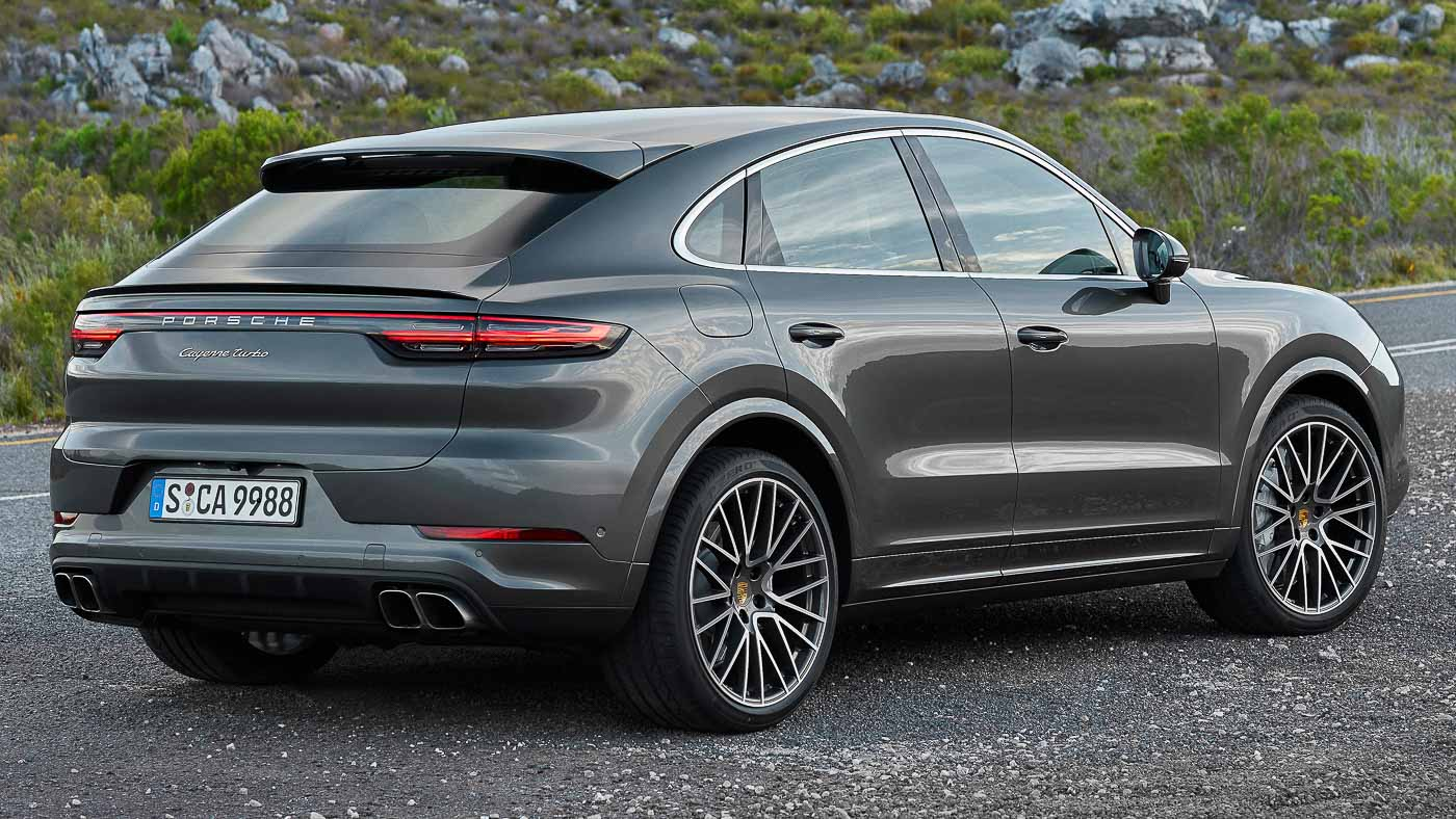 The New Porsche Cayenne Coupe Looks Like A Larger Macan Autobuzz My
