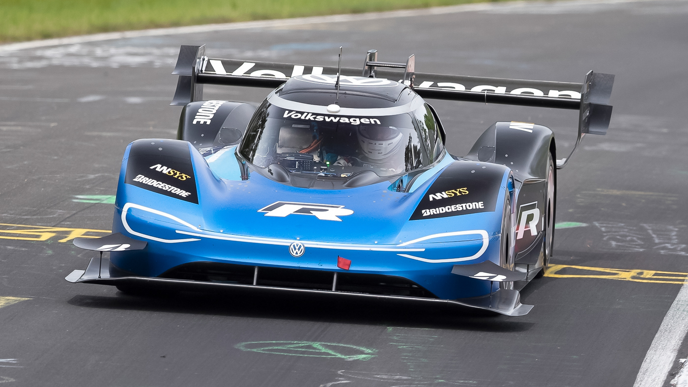 Volkswagen ID.R Smashed The NIO EP9's Nürburgring Record