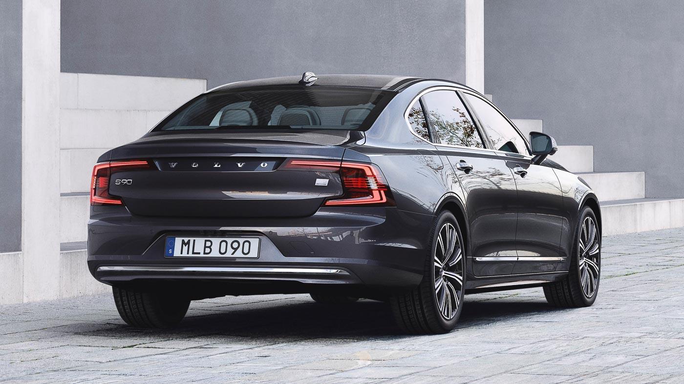 Volvo Cars Reveals Updated S90 Sedan Autobuzz My
