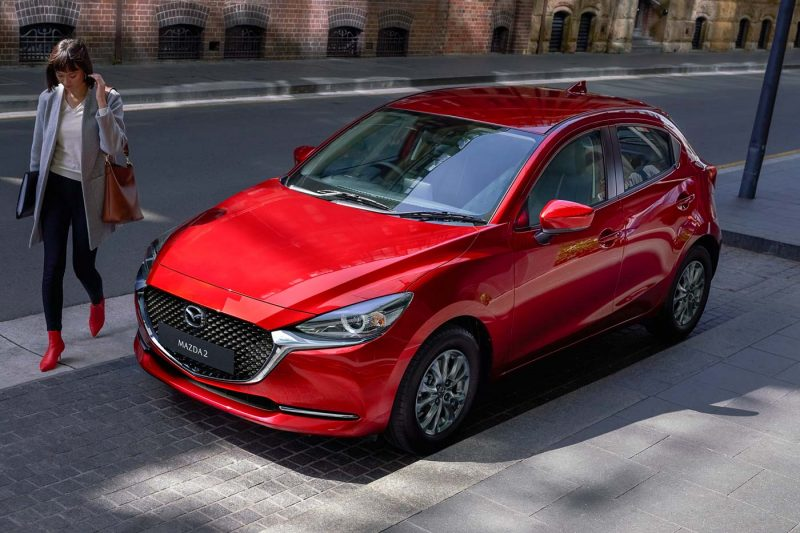 2020 mazda2 facelift launched - refreshed styling and