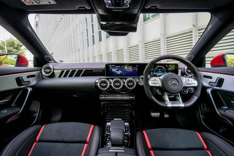 Mercedes-AMG CLA 45 S 4MATIC+ Interior - dashboard