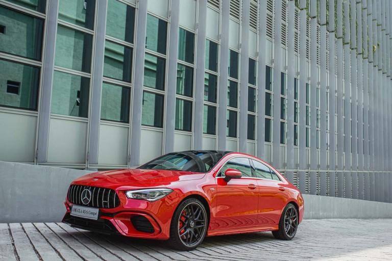 Mercedes-AMG CLA 45 S 4MATIC+ exterior