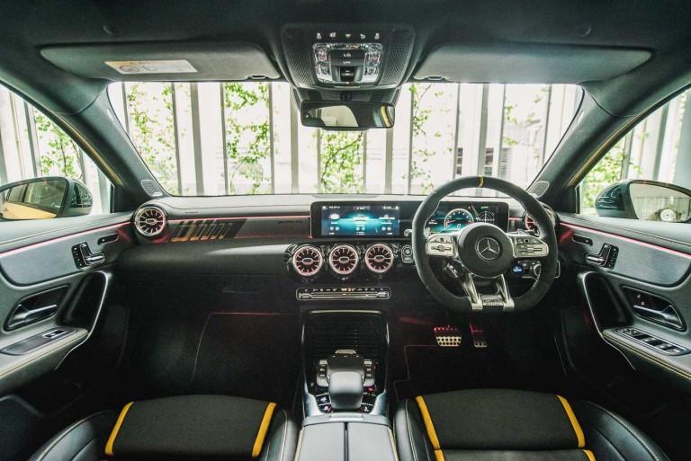 Mercedes-AMG A 45 S 4MATIC+ interior