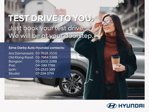 Test drive Hyundai vehicles without stepping foot into a showroom