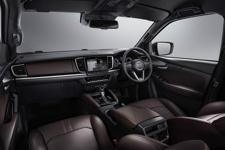 All-new Mazda BT-50 Interior