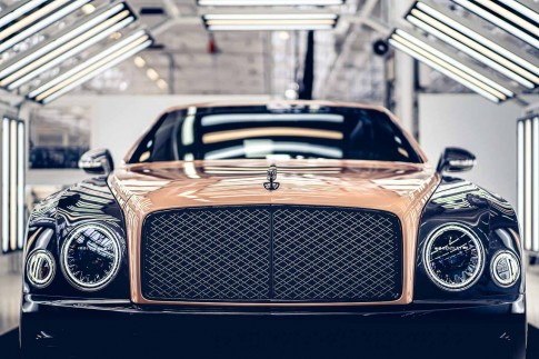 Bentley Mulsanne production comes to an end