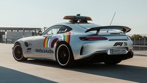 Mercedes-AMG GT R F1 Safety Car returns with a new look!