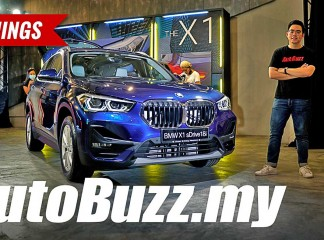 Video: 2020 BMW X1 sDrive18i launched in Malaysia, 5 Things