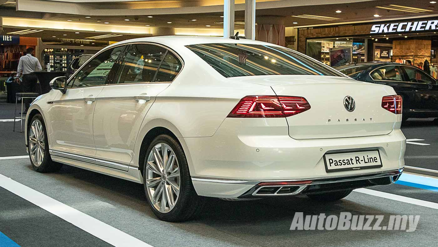 2020 volkswagen passat r-line launched in malaysia