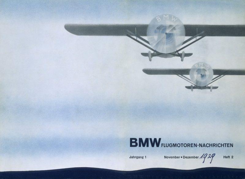 这就是导致我们误以为BMW标徽是个螺旋桨的1929年广告。